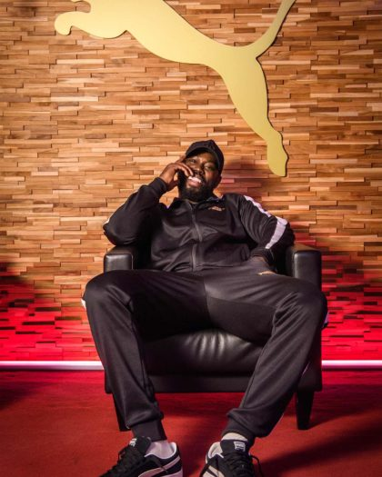 Ghetts Partners With Puma to Launch 'Suede Music'
