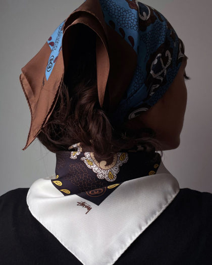 Stüssy and NOMA t.d. Release Collaborative Silk Scarf Collection