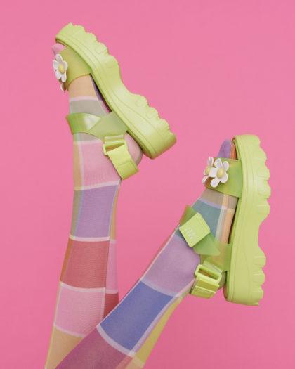 Vegan Footwear Brand Melissa Collaborates with Lazy Oaf