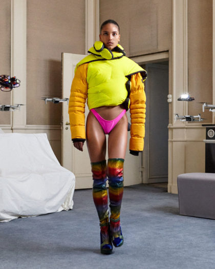 Sustainability Meets Technology for Season-less Duran Lantink Show