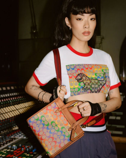 """Coach Shares """"Pride Is Where You Find It"""" Collection"""